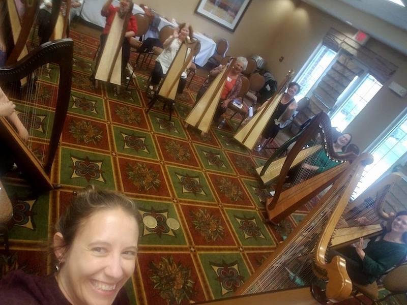 Meet Kelly - Scottish & Welsh Triple Harpist | Classical